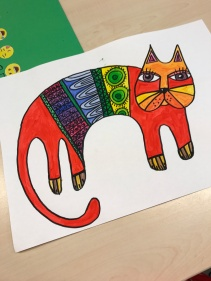 Laurel Burch katt